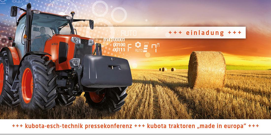 PR-Kampagne Esch Technik