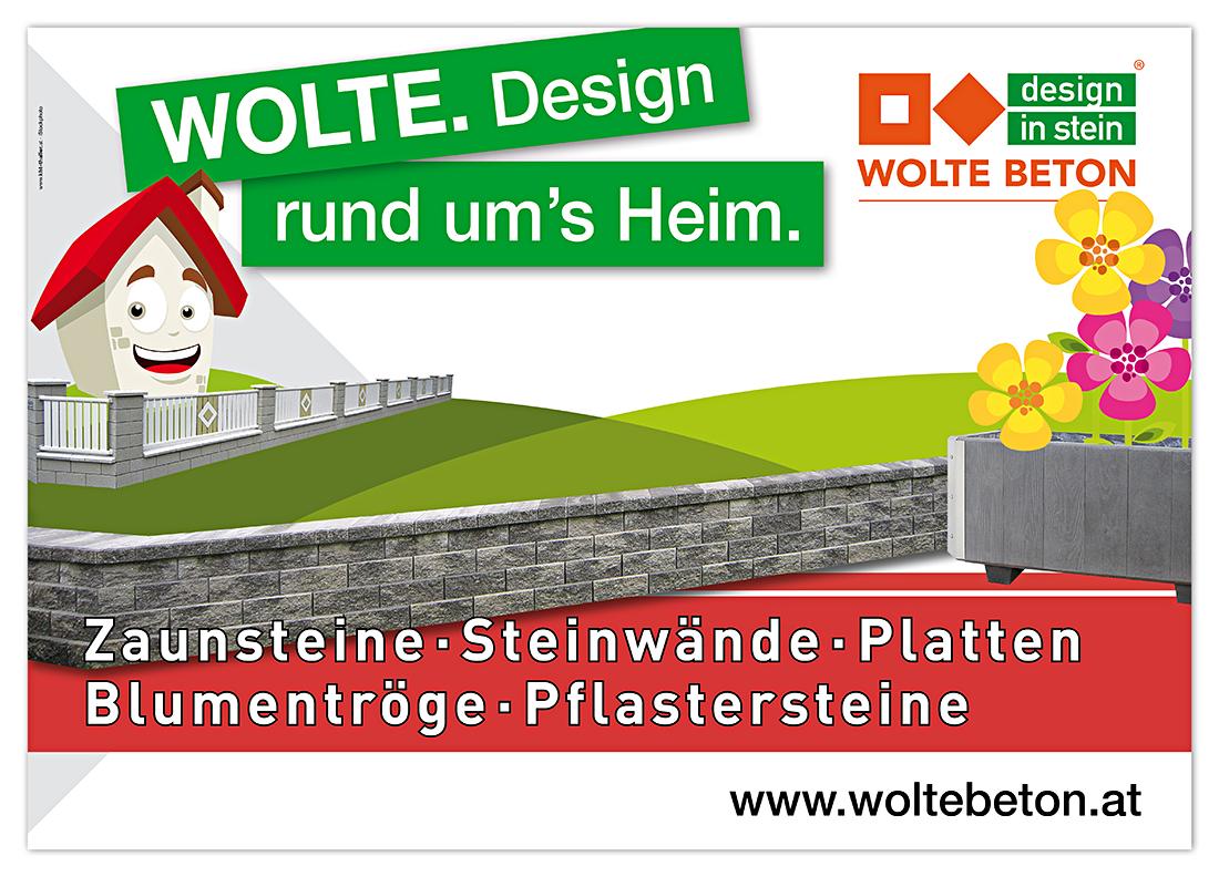 Plakatgestaltung Wolte Kärnten