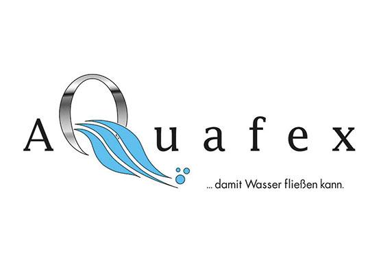 Logogestaltung Aquafex (Wasser)