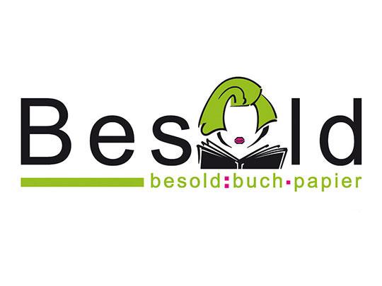 Logogestaltung Buchhandlung Besold