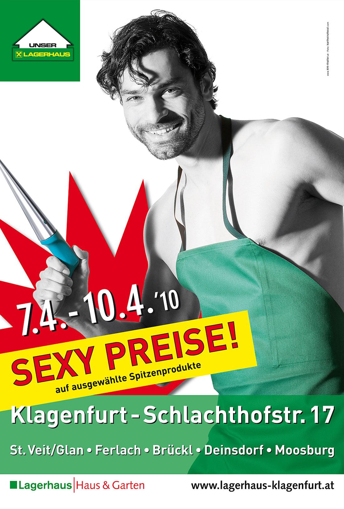Plakat-Design Lagerhaus