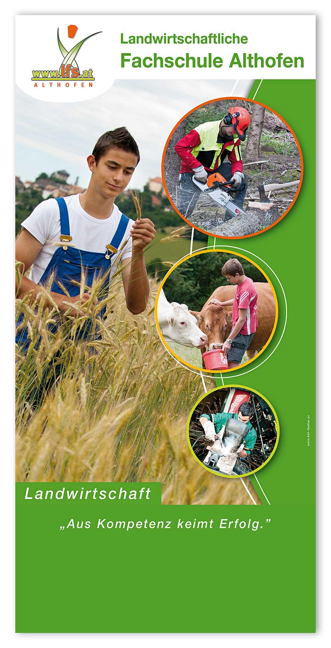 Drucksorten Landwirtschaftliche Fachschule Althofen