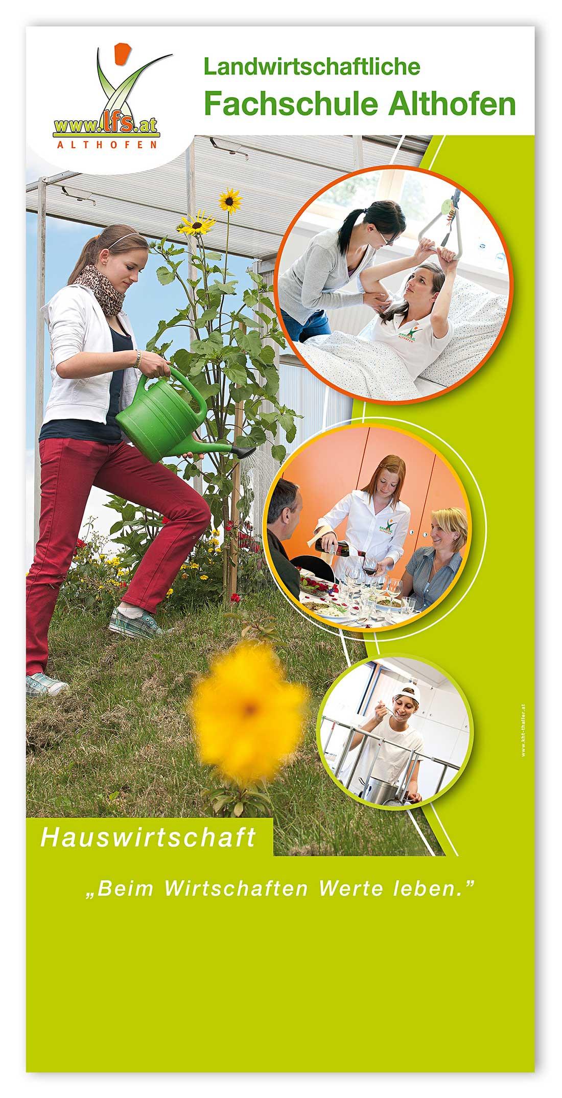 Corporate Design Landwirtschaftliche Fachschule Althofen