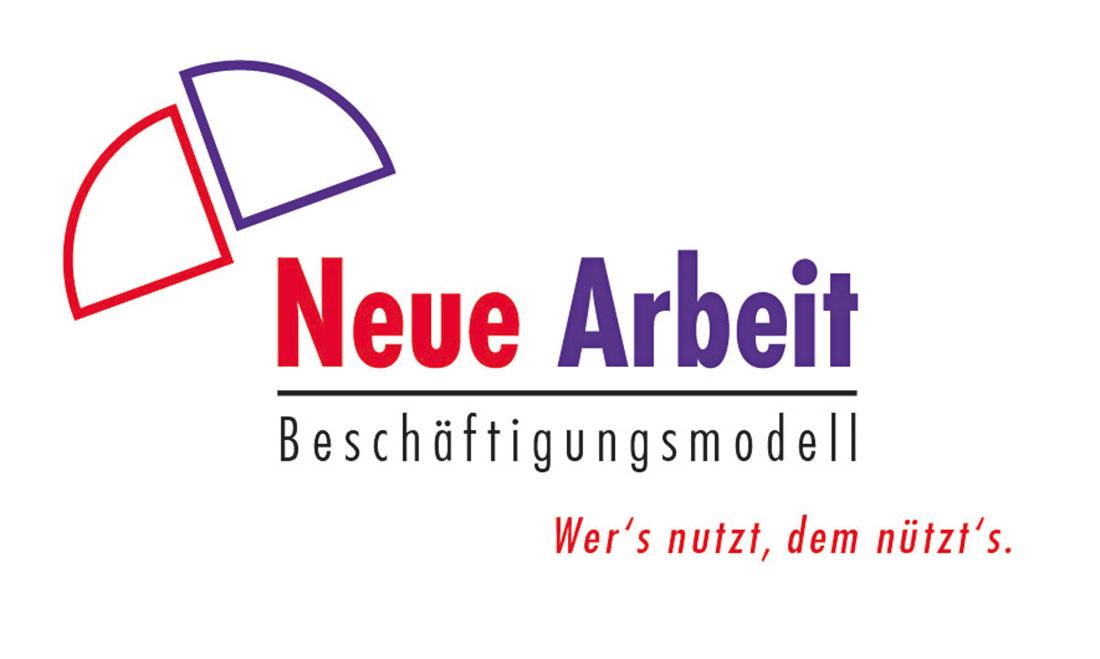 Logo und Slogan Neue Arbeit