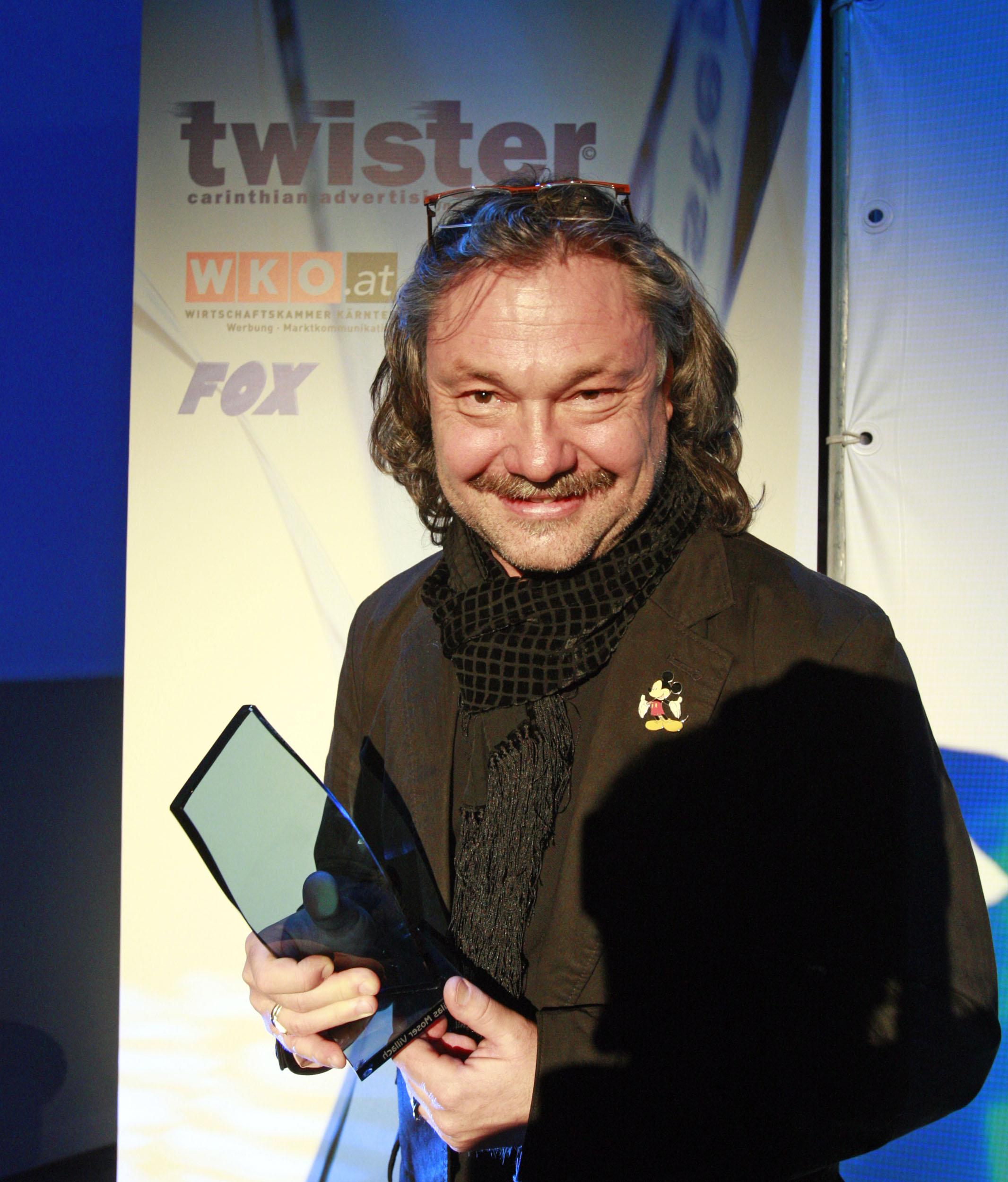 Karlheinz Thaller erhält Werbepreis Twister!