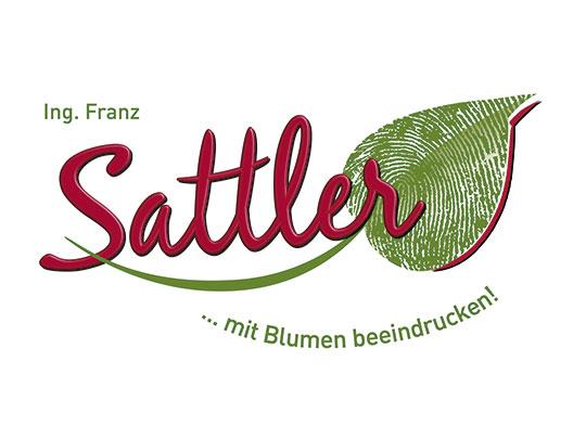 Logodesign Blumen Ing. Franz Sattler