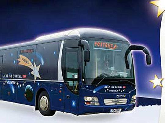 Design Lichts ins Dunkel-Sternebus