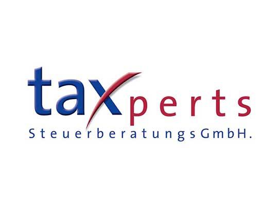 Logogestaltung taxperts Steuerberatungs GmbH